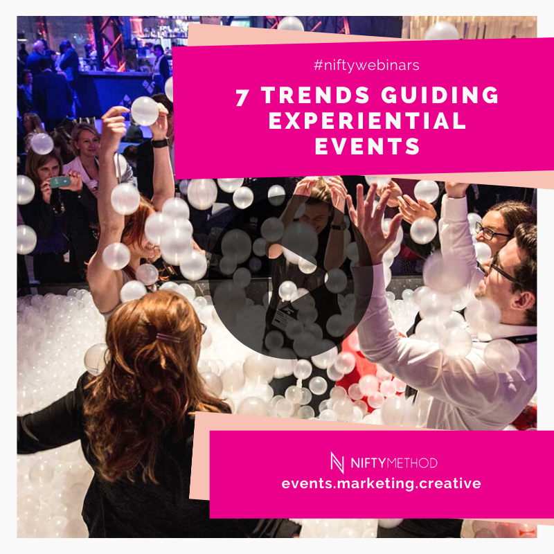7 Trends Guiding Experiential Events