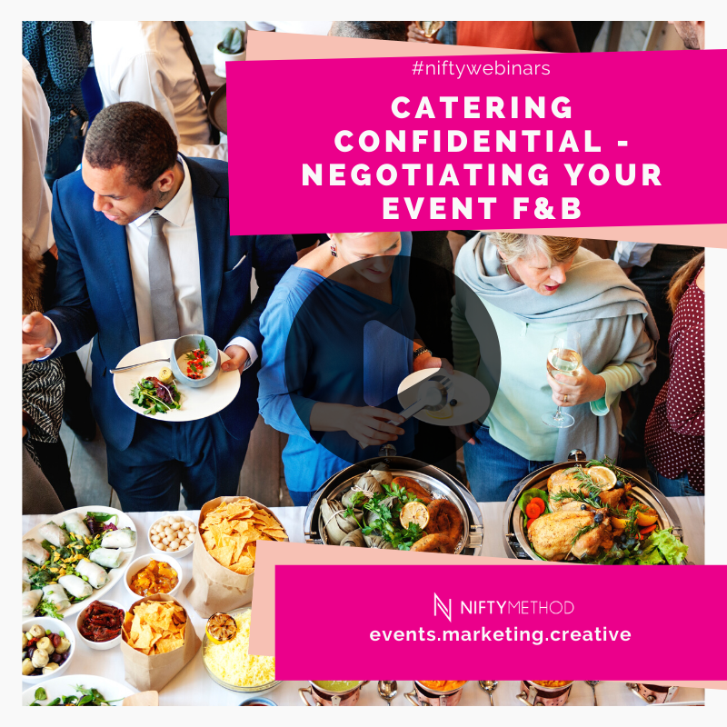 Catering Confidential: How to Negotiated Event F&B